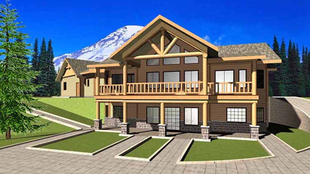 European style house plan 3 beds 2 5 baths 3385 sq ft for Weinmaster house plans