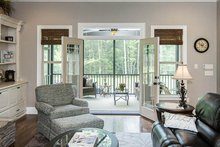 Country Interior - Family Room Plan #929-969