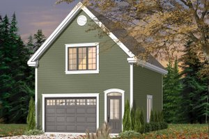 Dream House Plan - Exterior - Front Elevation Plan #23-2469