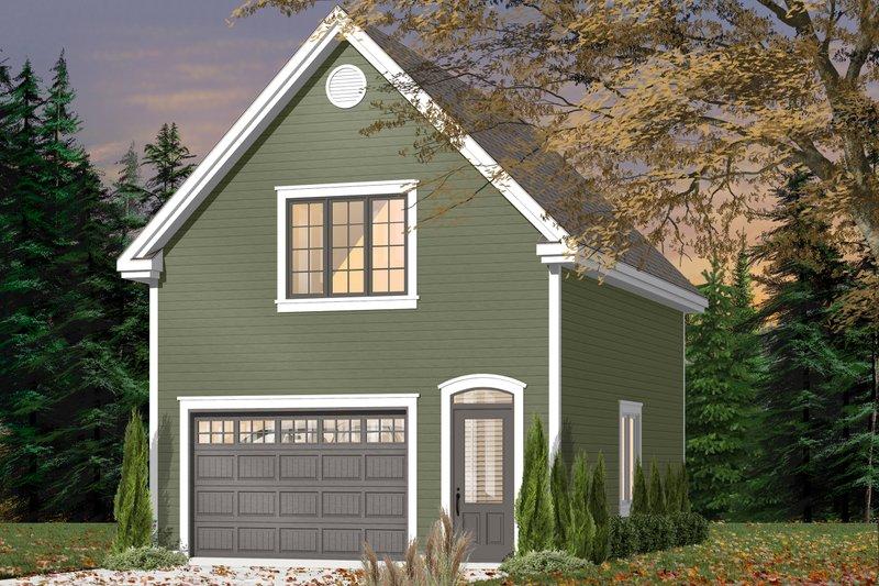 House Plan Design - Exterior - Front Elevation Plan #23-2469