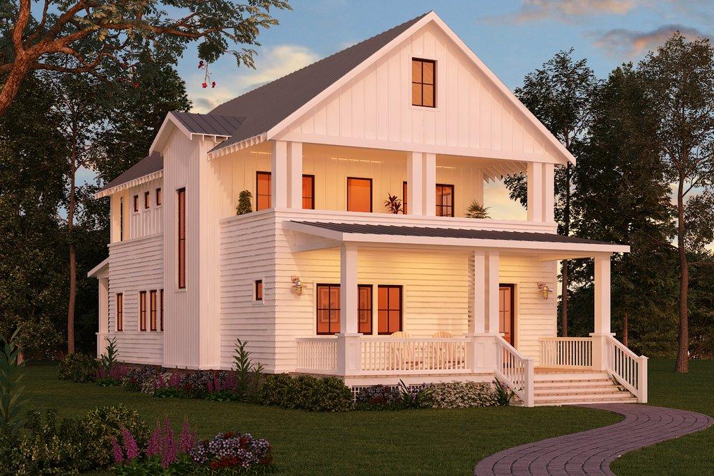 craftsman style house plan 3 beds 3 baths 2206 sq ft. Black Bedroom Furniture Sets. Home Design Ideas