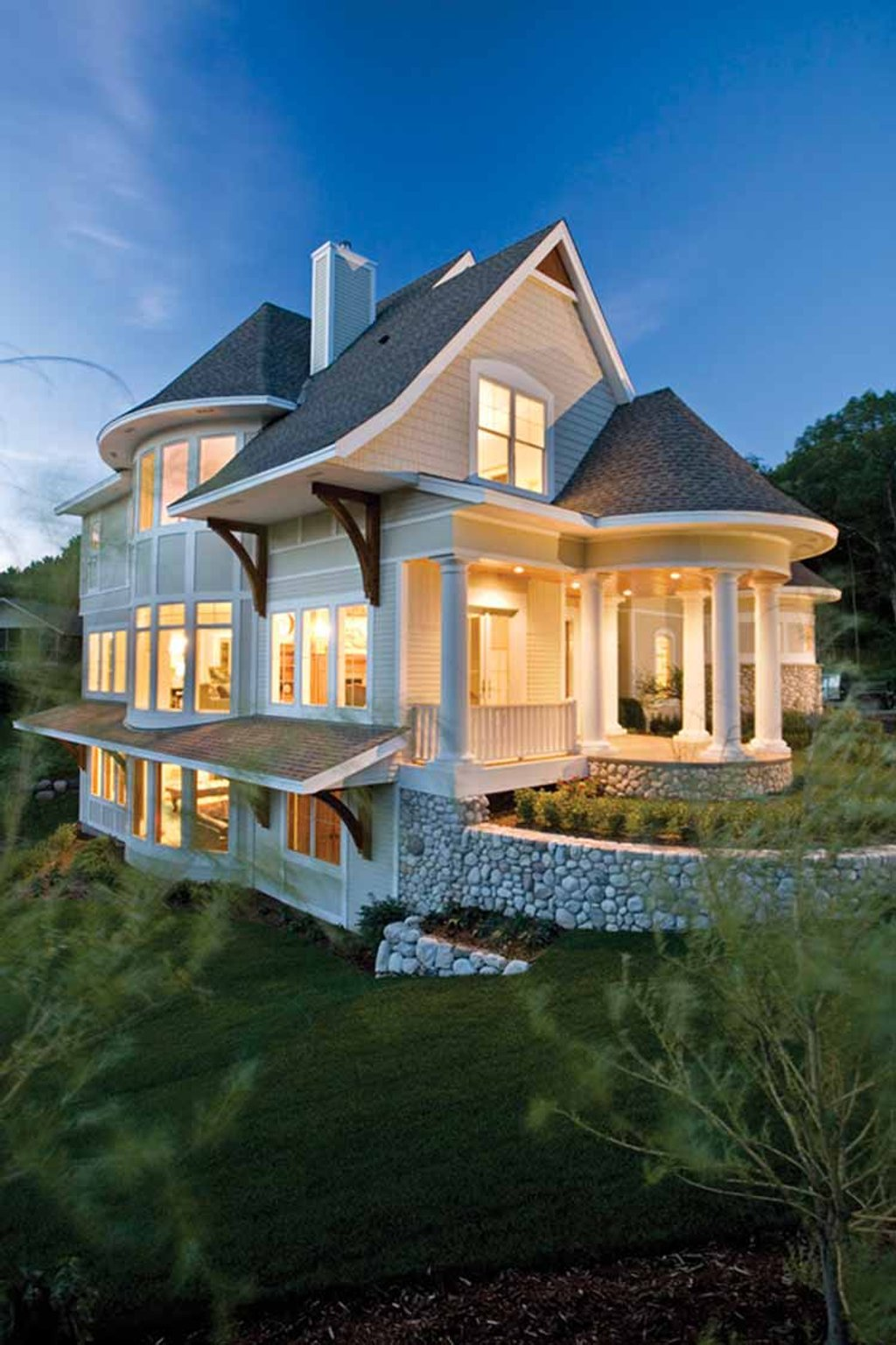 Victorian style house plan 4 beds 3 5 baths 3487 sq ft for Homeplan com