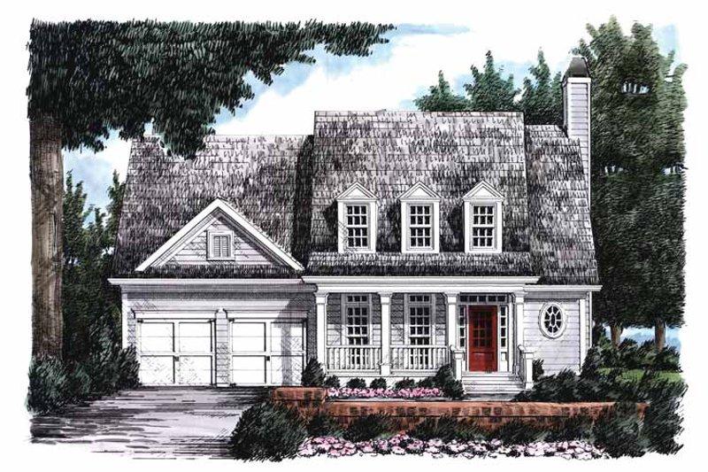 Classical Exterior - Front Elevation Plan #927-795 - Houseplans.com