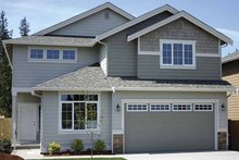House Plan Design - Contemporary Exterior - Front Elevation Plan #951-11