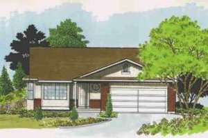 Traditional Exterior - Front Elevation Plan #308-135