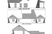 Traditional Style House Plan - 3 Beds 2.5 Baths 3178 Sq/Ft Plan #17-2024 Exterior - Rear Elevation