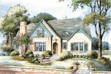 Country Exterior - Front Elevation Plan #429-308