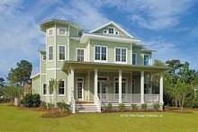 Country Exterior - Front Elevation Plan #930-358