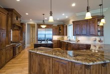 House Plan Design - European Interior - Kitchen Plan #929-895