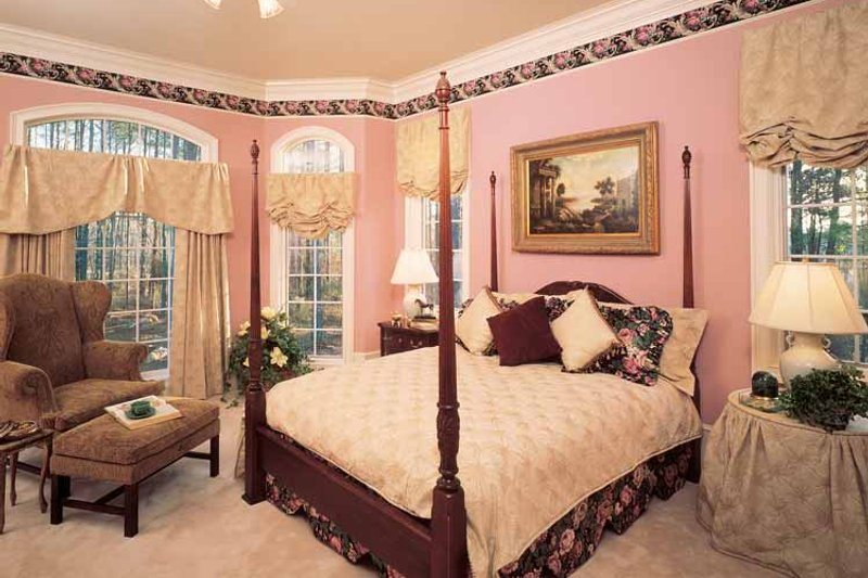 European Interior - Bedroom Plan #429-193 - Houseplans.com