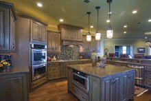 House Plan Design - Traditional Interior - Kitchen Plan #17-3302