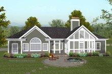 Traditional Exterior - Rear Elevation Plan #56-684