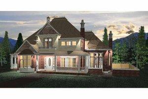 Dream House Plan - Victorian Exterior - Front Elevation Plan #937-24