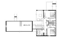 Country Floor Plan - Upper Floor Plan Plan #23-2590