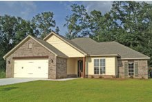 Dream House Plan - Ranch Exterior - Front Elevation Plan #430-105