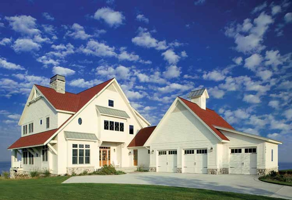 Victorian style house plan 3 beds 2 5 baths 3149 sq ft for New england home plans