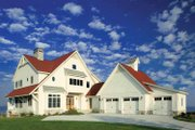 Victorian Style House Plan - 3 Beds 2.5 Baths 3149 Sq/Ft Plan #928-53 Exterior - Front Elevation