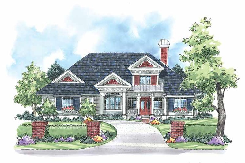 Country Exterior - Front Elevation Plan #930-182 - Houseplans.com