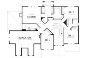 Craftsman Style House Plan - 4 Beds 4 Baths 3308 Sq/Ft Plan #48-119 Floor Plan - Upper Floor