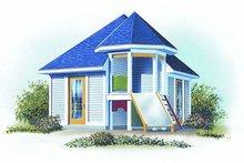 Dream House Plan - Exterior - Front Elevation Plan #23-763