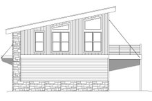 House Plan Design - Contemporary Exterior - Other Elevation Plan #932-41