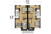 House Plan - 5 Beds 2 Baths 2392 Sq/Ft Plan #25-4517