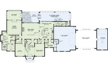 European Floor Plan - Main Floor Plan Plan #17-2530