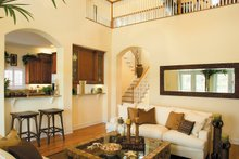 Mediterranean Interior - Family Room Plan #930-16