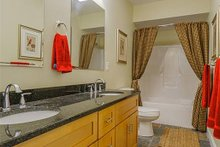 Home Plan - Lower Level Bath - 1400 square foot cottage