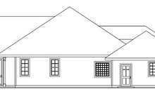 Dream House Plan - Ranch Exterior - Other Elevation Plan #124-744