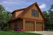 Traditional Style House Plan - 0 Beds 1 Baths 1600 Sq/Ft Plan #118-177 Exterior - Front Elevation