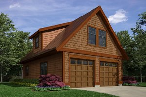 Traditional Exterior - Front Elevation Plan #118-177