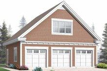 House Plan Design - Craftsman Exterior - Front Elevation Plan #23-2467