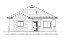 Architectural House Design - Ranch Exterior - Front Elevation Plan #1077-8