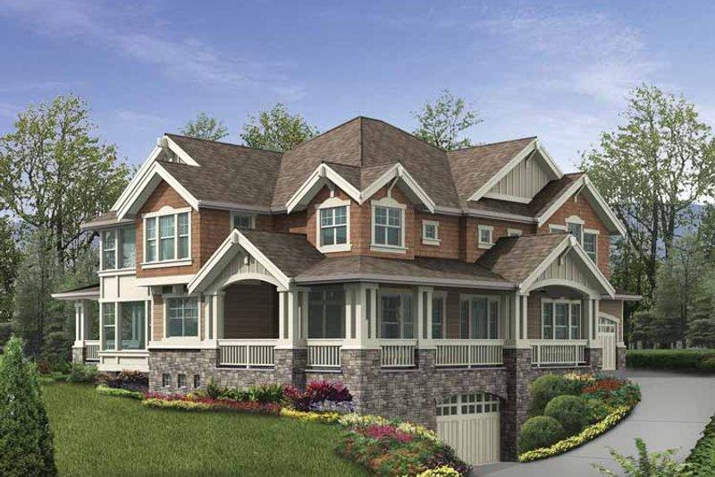 Home Plan - Craftsman Exterior - Front Elevation Plan #132-487