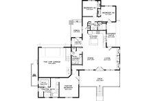 Craftsman Floor Plan - Main Floor Plan Plan #434-21