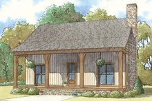 Home Plan - Country Exterior - Front Elevation Plan #17-3413