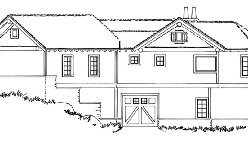 Country Exterior - Other Elevation Plan #942-29 - Houseplans.com