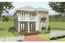 House Plan Design - Traditional Exterior - Front Elevation Plan #44-215