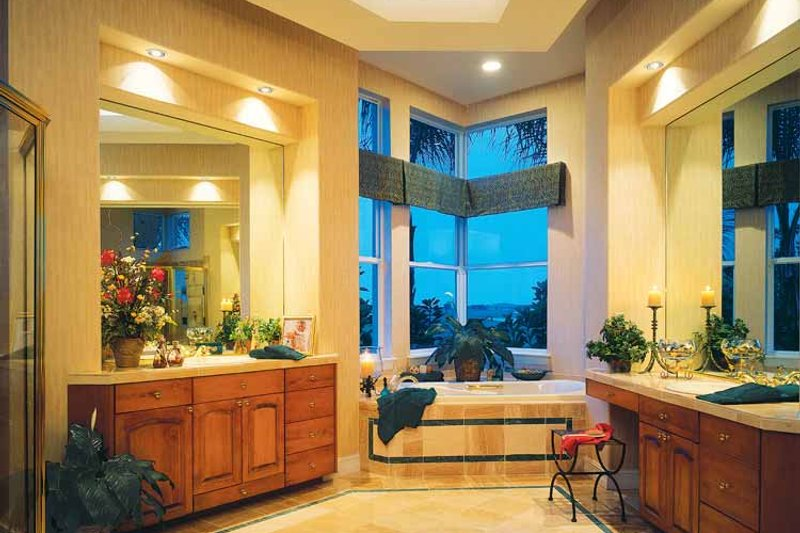 Mediterranean Interior - Bathroom Plan #930-50 - Houseplans.com