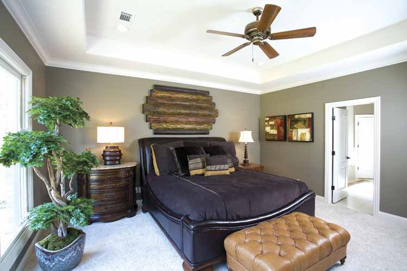 Country Interior - Master Bedroom Plan #17-3283 - Houseplans.com