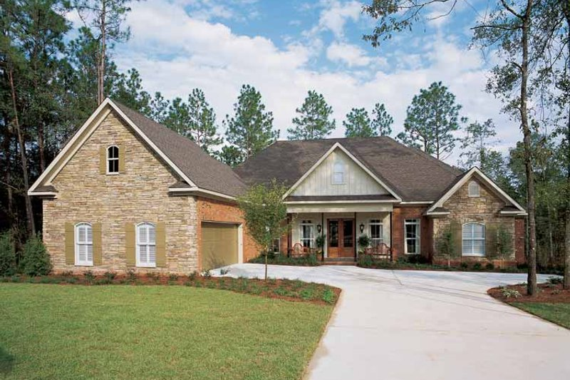 Home Plan - Traditional Exterior - Front Elevation Plan #37-274