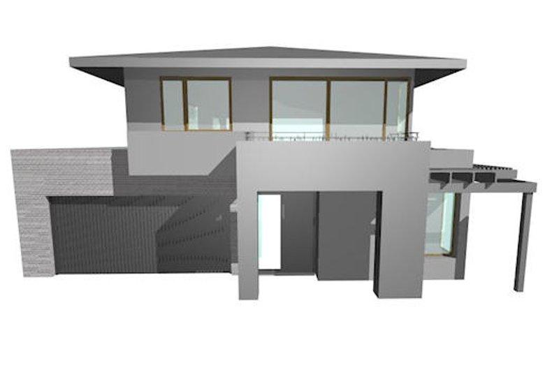 Modern Style House Plan - 4 Beds 2.5 Baths 4662 Sq/Ft Plan #496-16