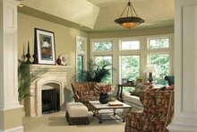 House Plan Design - European Interior - Family Room Plan #928-37