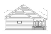 House Plan Design - European Exterior - Other Elevation Plan #942-8