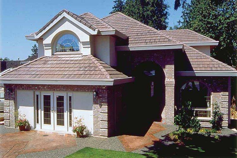 House Plan Design - Mediterranean Exterior - Front Elevation Plan #47-856