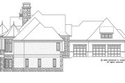 European Style House Plan - 5 Beds 5 Baths 4357 Sq/Ft Plan #929-893 Exterior - Other Elevation