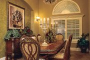 Mediterranean Style House Plan - 3 Beds 2.5 Baths 2907 Sq/Ft Plan #930-60 Interior - Dining Room