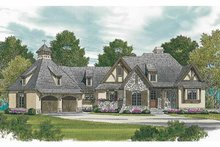 Architectural House Design - European Exterior - Front Elevation Plan #453-607