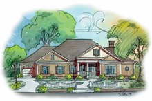 Home Plan Design - Classical Exterior - Front Elevation Plan #429-269